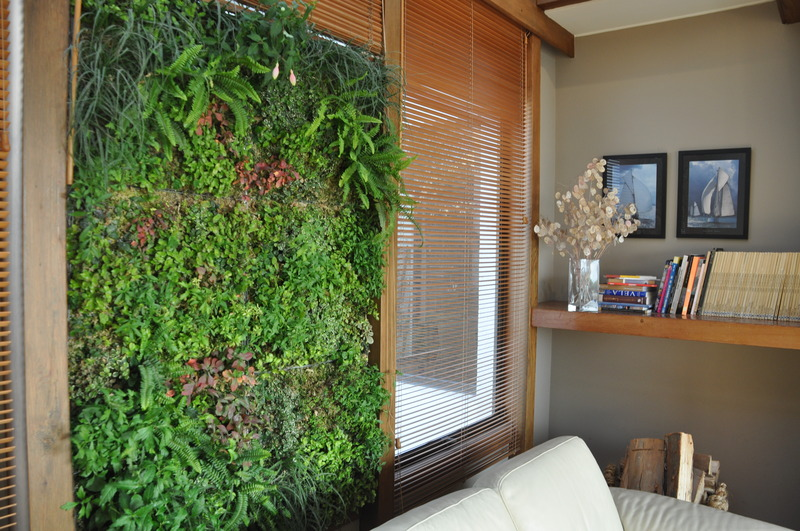 Jardines verticales el nuevo muro verde for Plantas verticales de interior