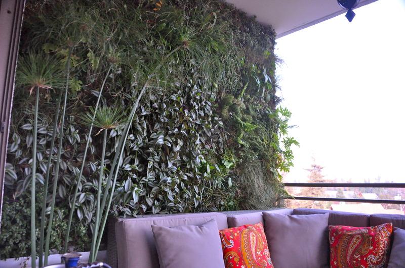 Jardines verticales el nuevo muro verde - Jardin vertical terraza ...
